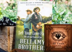 Autographed Let Your Love Flow The life and Times of the Bellamy Brothers Book and CD